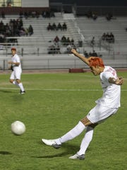 The Desert Mirage varsity soccer team beat Santa Monica 1-0.