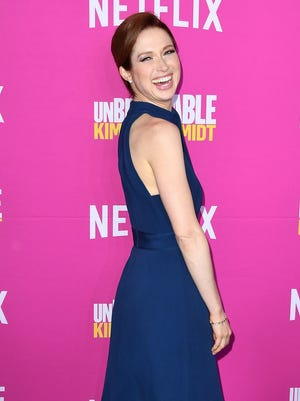 "Ellie Kemper attends the  ""Unbreakable Kimmy Schmidt"" for your consideration event."