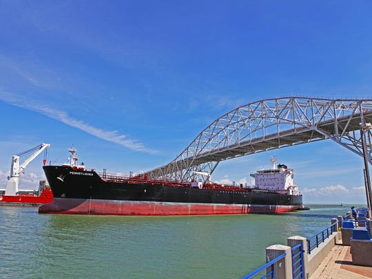 The Port of Corpus Christi is the nation's largest exporter of crude oil, and fourth-largest in total tonnage.