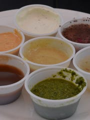 The Wildseed offers an array of tasty sauces.