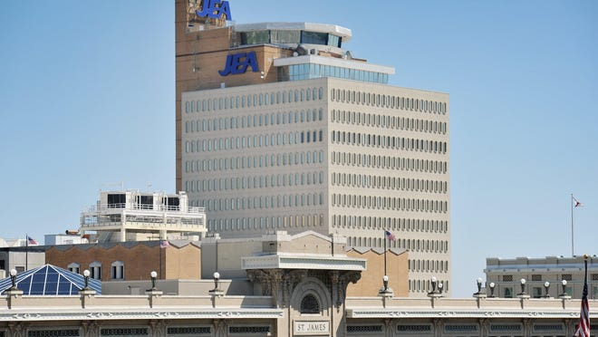 The JEA building downtown