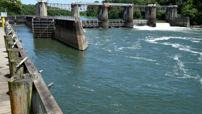 New Savannah Bluff Lock and Dam.