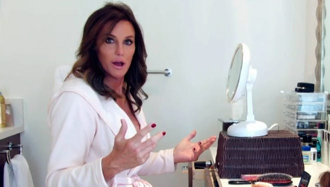 "This 2015 image provided by courtesy of E! shows Caitlyn Jenner in the first official promotional trailer for the new documentary series, ""I Am Cait,"" in Malibu, Calif. The show premieres Sunday, July 26, 2015, at 9 p.m. ET/PT on E!"