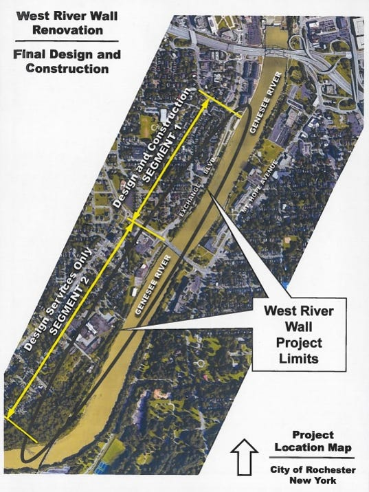 West River Wall project