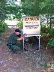 A bear trap.