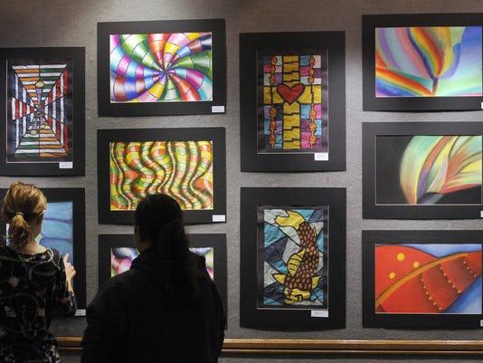 Museum hosts students' art