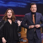 """Melissa McCarthy is the Bob Ross of painting with the """"Colors of the Wind."""""""