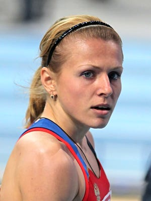 In this March 4, 2011, file photo, Yulia Stepanova poses in an undisclosed location.
