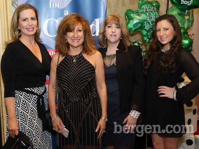 Martha Byrne, Emmy award winning actress and CASA spokesperson; Liz Madden; Suzanne Curry, president, CASA Board of Trustees; Jackie Madden (Photo by Seth Litroff)
