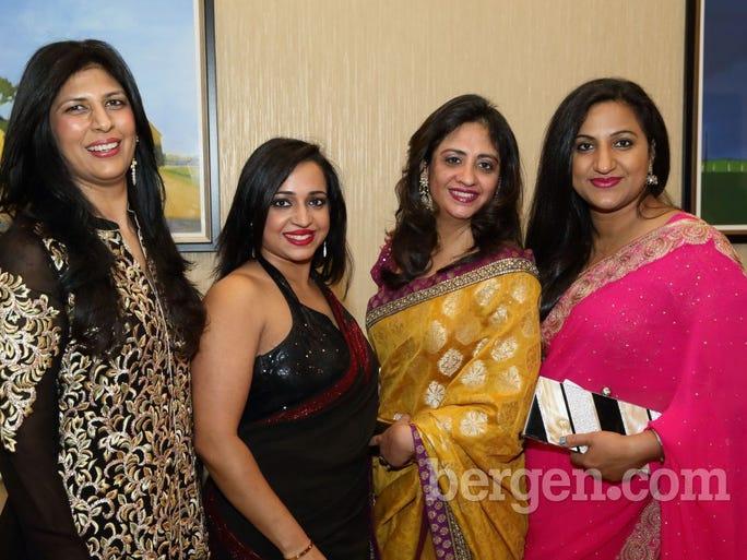 Sapna Sood; Pooja Aggarwal; Purva Kashyap; Mansi Hooda (Photo by Seth Litroff)