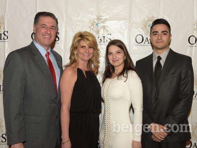 Dale Erricco; Donna Erricco; Julia Abramova; Sebastian Marin (Photo by Eugene Parciasepe Jr.)