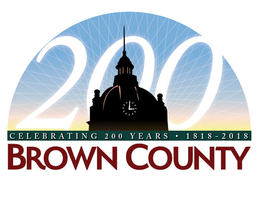 Brown County's 200th-anniversary logo
