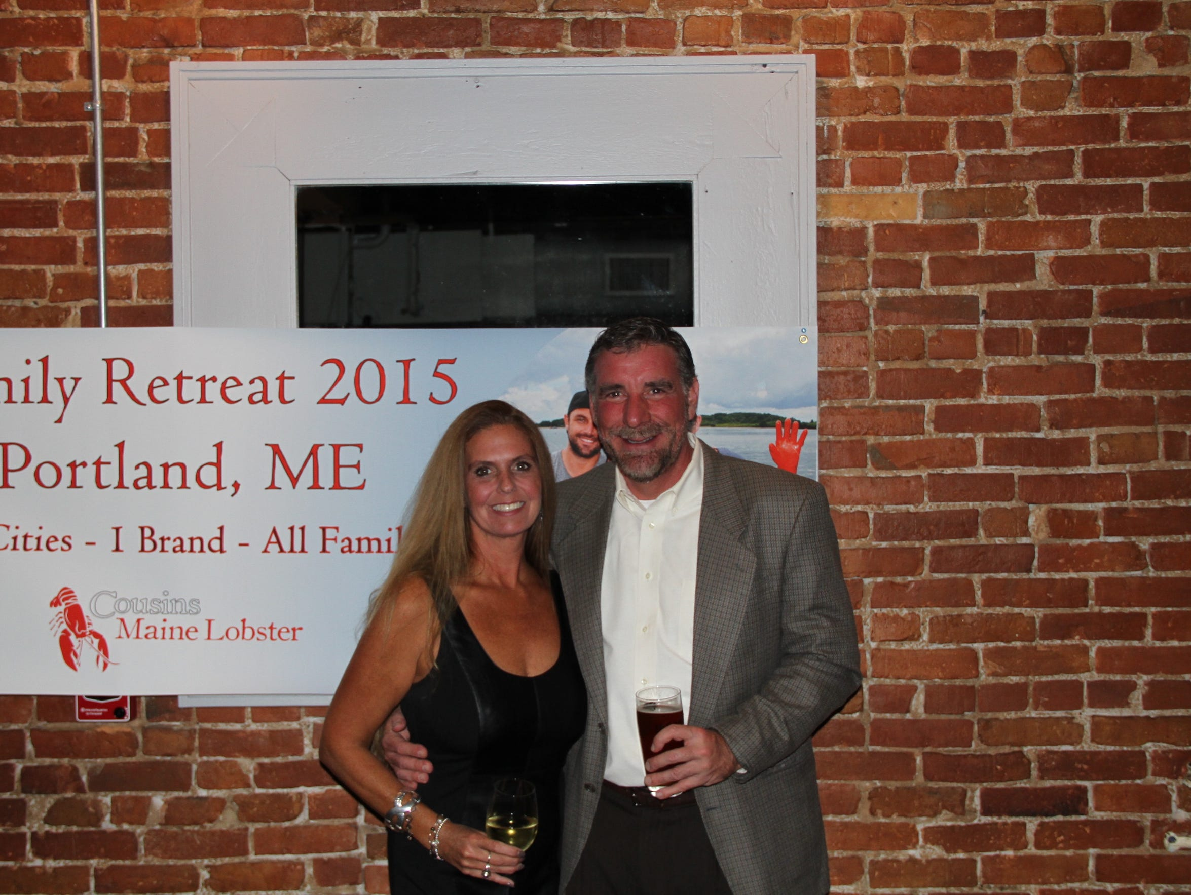 New Cousins Maine Lobster franchise owners Quinn Raines,