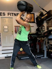 Joe Wiles runs fitness boot camp training from his