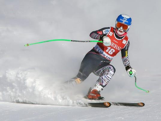 Alpine Skiing: FIS World Cup-Women's Downhill