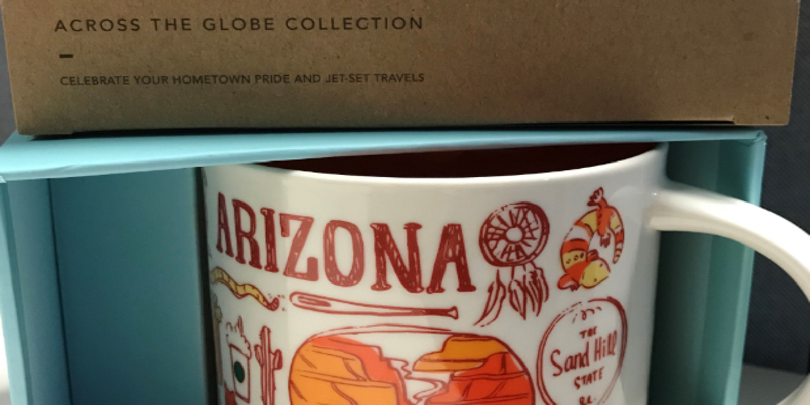 What S With The Been There Arizona Mug At Starbucks