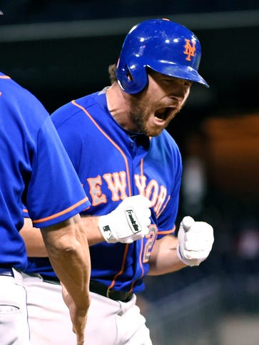 Daniel Murphy and the Mets have won seven in a row