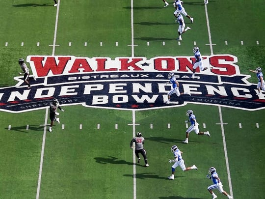 The first half of the 2018 Walk-On's Independence Bowl,