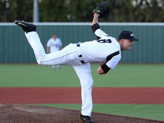 Rider's David Moffat was named the Red River Diamond Dozen Pitcher of the Year.