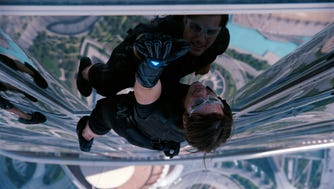 Tom Cruise plays Ethan Hunt in 'Mission Impossible: Ghost Protocol.'
