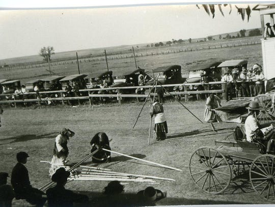 A photo from events at the Phillips County Fair in