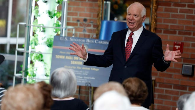 Sen. Ben Cardin, D-Md., is ranking member of the Senate Foreign Relations Committee.