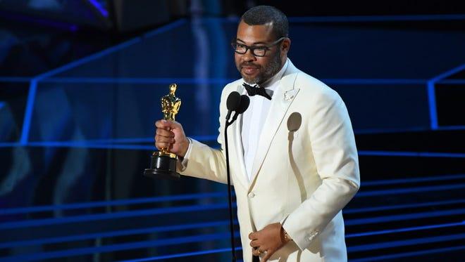 'Get Out' writer/director Jordan Peele is the first black winner in original screenplay.