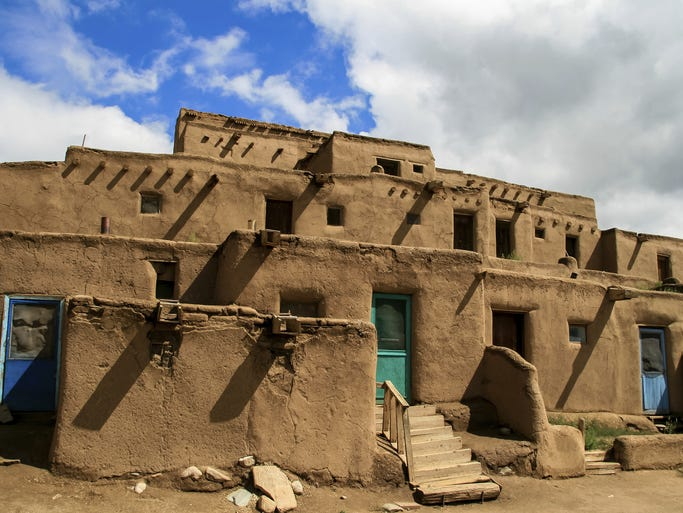 "Visit New Mexico, the 47th state, and it's easy to see why it's nicknamed ""The Land of Enchantment."" American Pueblo Indian culture remains alive and well here. The beautiful Taos Pueblo, one of the oldest continuously inhabited communities on the continent, draws artists and photographers year-round."