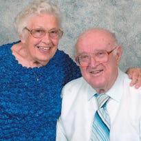 Juanita and Glenn Dobey celebrate 64th anniversary