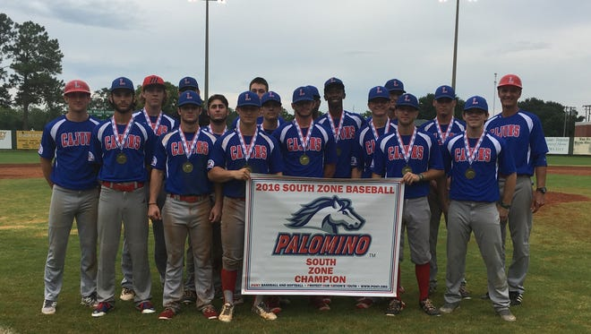 The Lafayette Cajuns won the PONY Palomino World Series this past weekend in Santa Clara, Calif..
