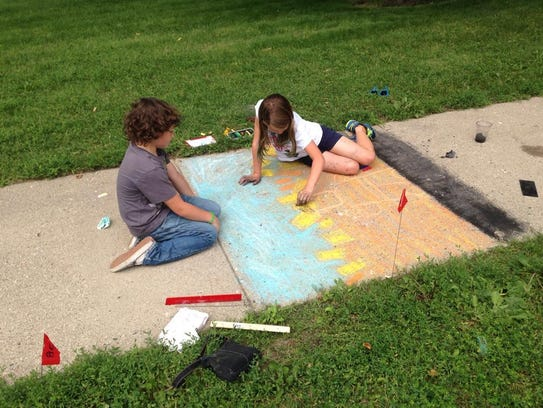 With the Northville Art House Chalk Festival addition