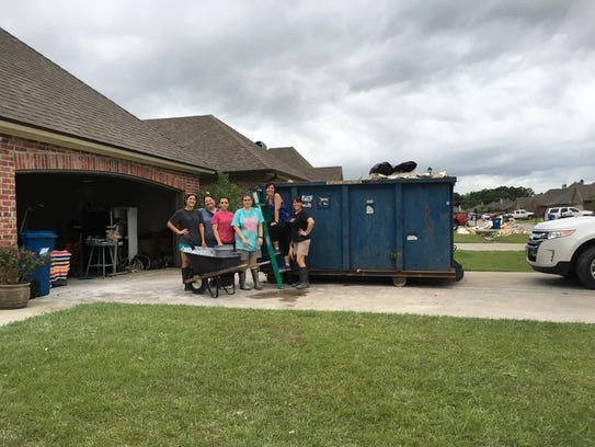 Staff, parents and students from L. Leo Judice Elementary