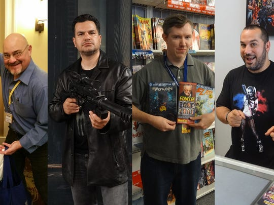 Brevard comic shop owners, like Rick Schreiber, Peter Pappas, Rick Shea and Matt Moller, are psyched for MegaCon Orlando 2017.
