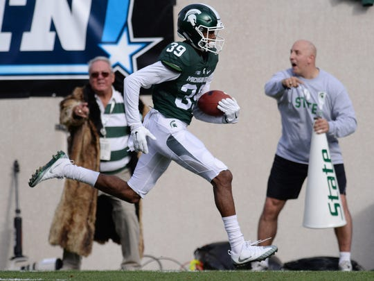 Michigan State Spartans freshman cornerback Justin