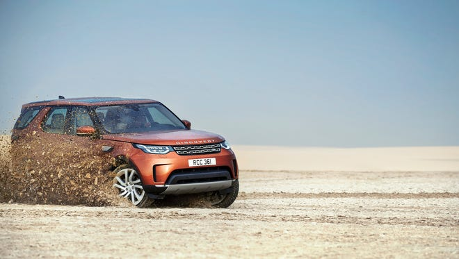 The 2017 Land Rover Discovery. (Land Rover)