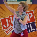 Bartlett students Jump with Jill