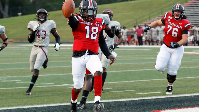 Gardner-Webb takes on  North Carolina Central in non-conference season opening football action at Ernest W. Spangler Stadium on Saturday, Sept. 14, 2019 in Boiling Springs.