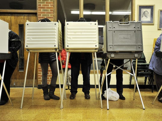file -- voting booth