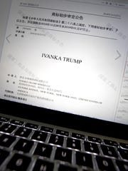 China Trump Trademarks