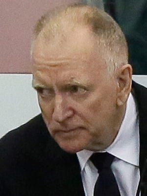 Michigan coach Red Berenson