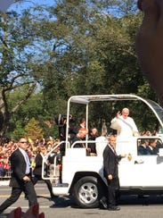 Two Murfreesboro teachers got to see Pope Francis in