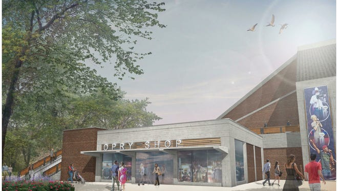 The Grand Ole Opry House plans to add parking, larger retail space and an enhanced area for backstage tours.