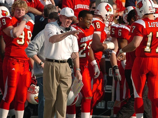 Stefan LeFors served as Bobby Petrino's quarterback at Louisville from 2003-04.