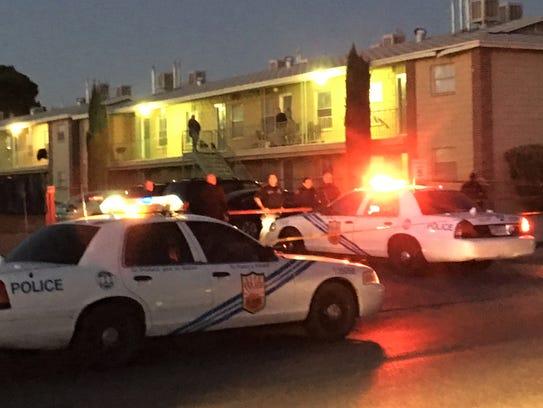 El Paso police investigate a fatal shooting Feb. 23