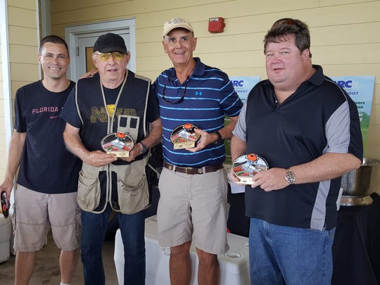 Harbour Community Bank was the winning team, with Alex Ralicki, Cliff O'Donnell, Chuck Reller, Steve Woods