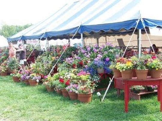 Wilmington Flower Market Flower Tent