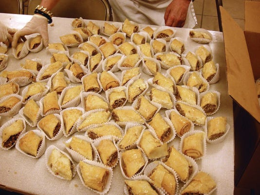 Baklava is a favorite treat at the Feast of the Middle East at St. George Orthodox Christian Church. The year's event is set for Saturday and Sunday.