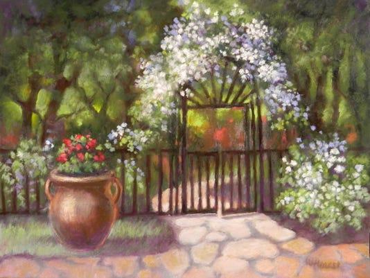 """""""Valley Courtyard"""" by Winfrey Hearst."""
