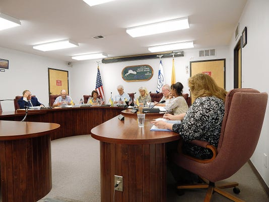Ruidoso Downs City Council at last meeting.