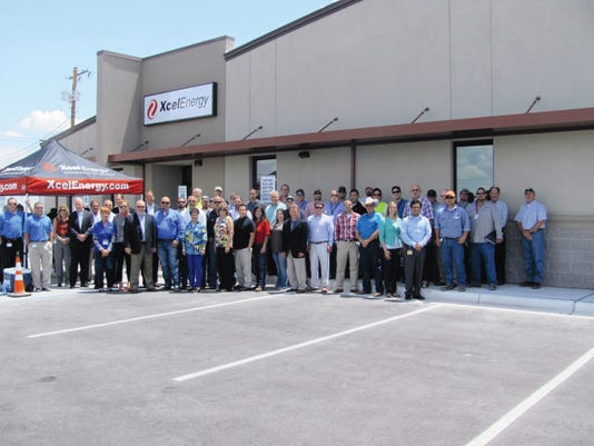SUBMITTED PHOTO   The staff at the Carlsbad Service Center for Xcel Energy has helped the business achieve a Leadership in Energy and Environmental Design certification.